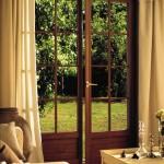 Classic wood style upvc Golden Oak