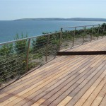 316 grade stainless outdoor beach balustrade railing system