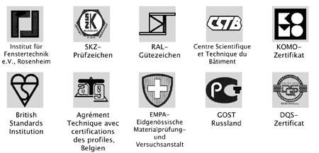 Thyssen inoutic pvc certifications