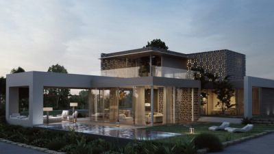 3D House Realization Rendering Design