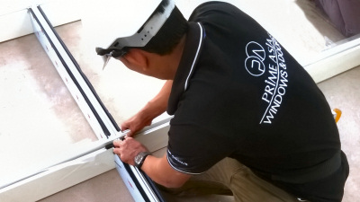 Prime Asia Window Installation Team